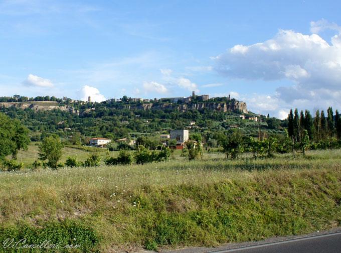 Италия. Панорама Орвието
