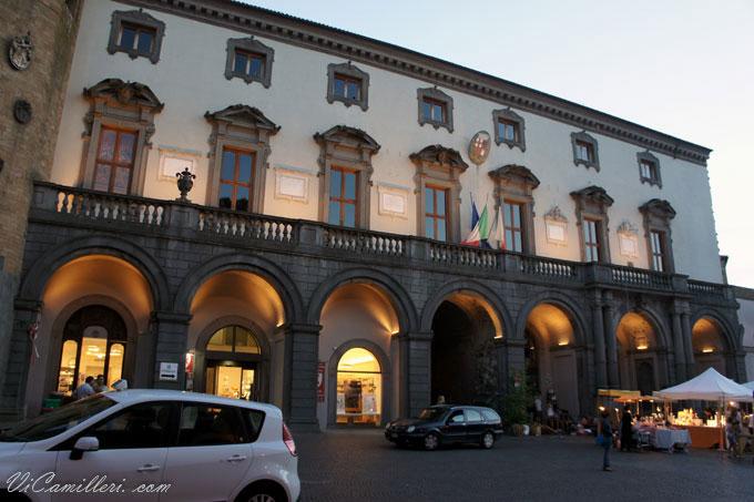 Италия, Орвието. Палаццо Комунале